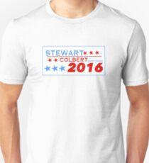 Stewart/Colbert 2016 Unisex T-Shirt