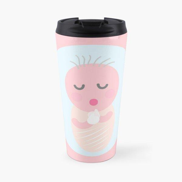 cute baby   cartoon for your design  Travel Mug