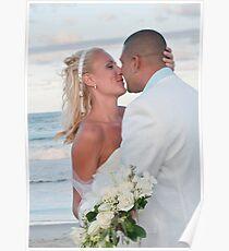 Wedding on the beach Poster