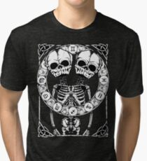 Zombstrology: Gemini Tri-blend T-Shirt