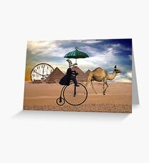 The Sands Of Time... Greeting Card