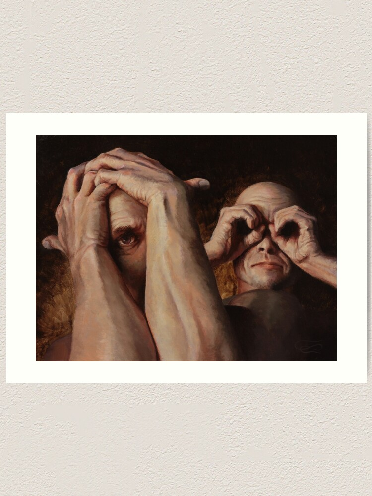 Alternate view of Who Watches the Watcher? Art Print