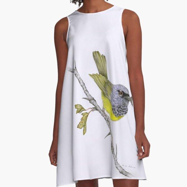 MacGillivray's Warbler A-Line Dress A-Line Dress