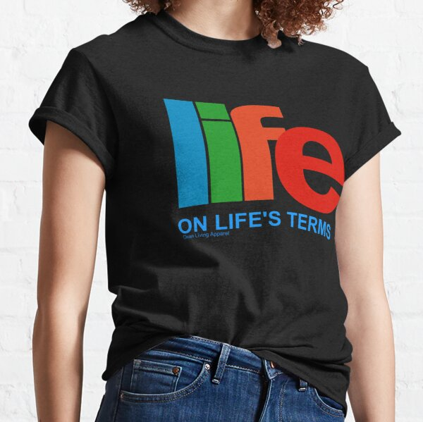 Narcotics Anonymous Life On Life's Terms 80s 90s Retro NA AA Gifts Classic T-Shirt