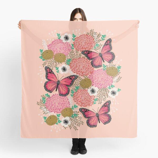 Monarch Florals by Andrea Lauren  Scarf