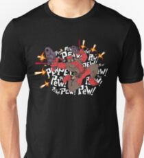 Deadpewpewpew! Unisex T-Shirt