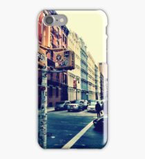 SoHo Street Corner iPhone Case/Skin