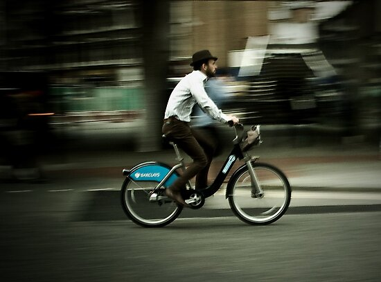 boris bike by Tony Day