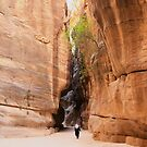 Siq to Petra, Jordan by Justine Wright