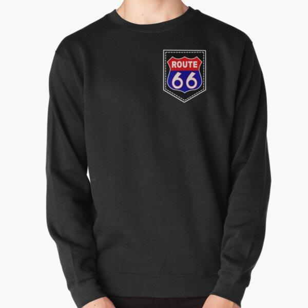 Vintage 90s sweatshirt,route 66 graphic sweatshirt sweatshirt with logo and illustration,red athletic sweatshirt grey cotton sweatshirt,S