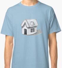 Naive Thatched House Sketch Classic T-Shirt