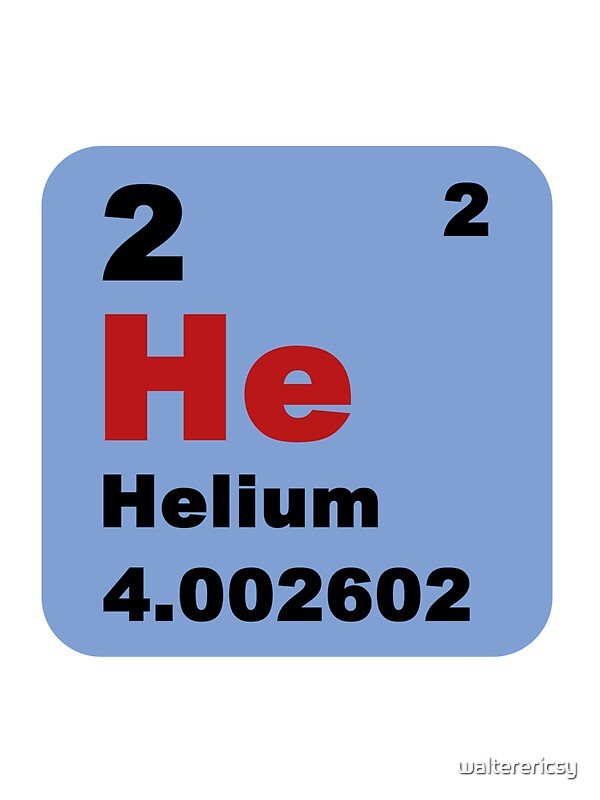 Periodic table of elements no 2 helium stickers by walterericsy periodic table of elements no 2 helium by walterericsy urtaz Choice Image