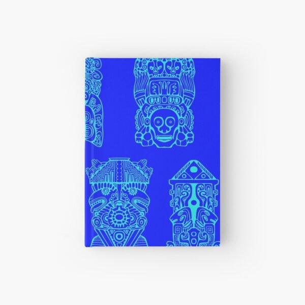 #Illustration, #art, #ancient, #antique, ornate, old, design, aztec, symbol, decoration Hardcover Journal