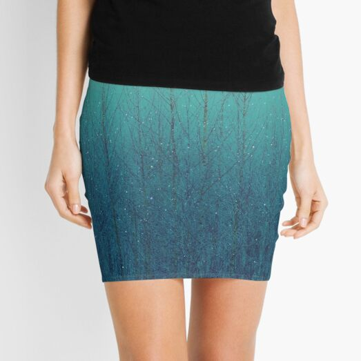 The Moon Shines Bright In Such A Night Mini Skirt