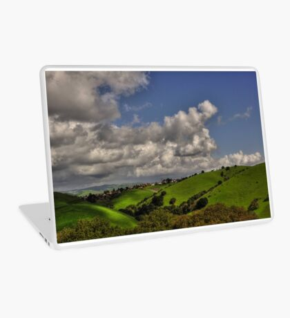 small village in the hills  Laptop Skin
