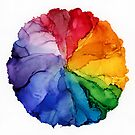 Color Wheel by Vine Street Cat Co - Art by Caitlyn Thompson