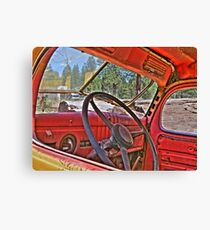 1940s dodge logtruck Canvas Print