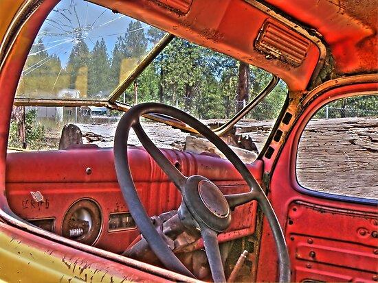 1940s dodge logtruck by pdsfotoart