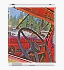 1940s dodge logtruck iPad Case/Skin