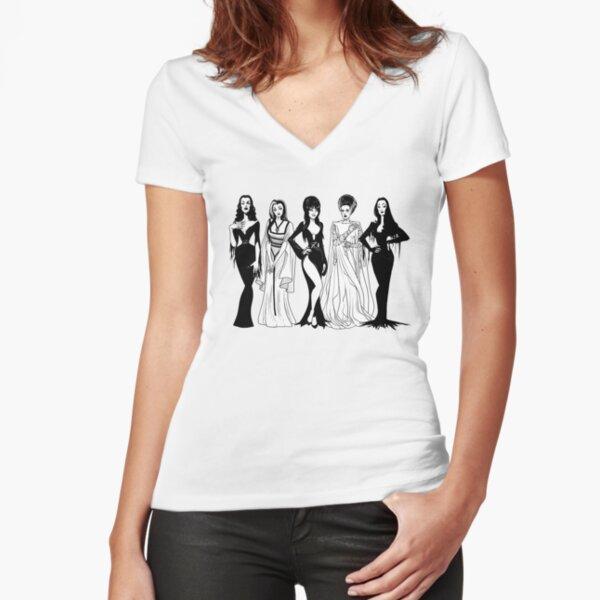 Sisterhood Fitted V-Neck T-Shirt