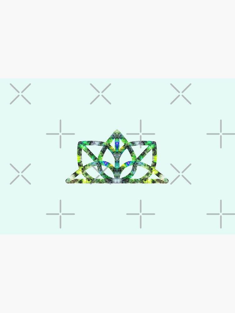 Yoga symbol green by nobelbunt