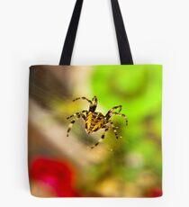 Spider Close-up Tote Bag