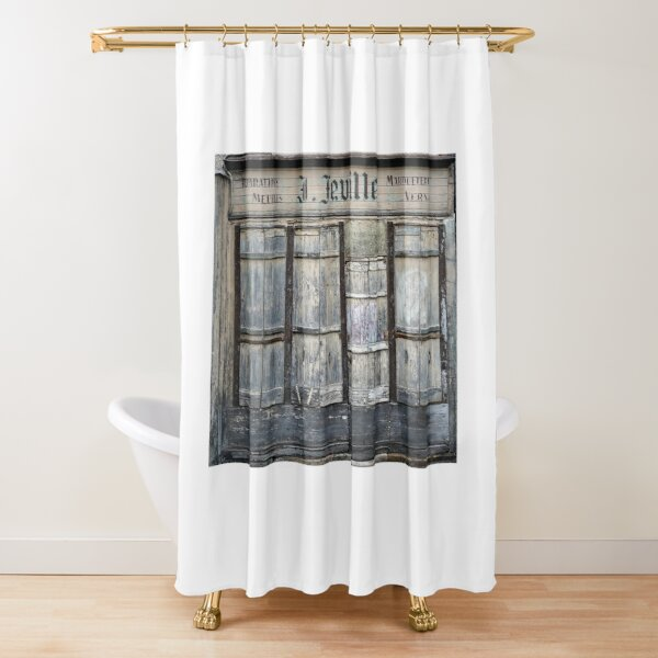 Ancient Storefront Shower Curtain