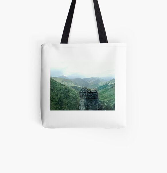 The fields of Rohan in NEw Zealand All Over Print Tote Bag