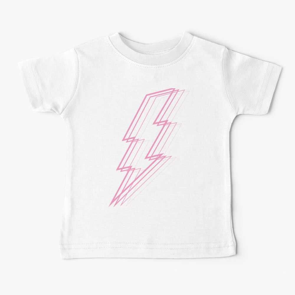 Pink Lightning Baby T-Shirt