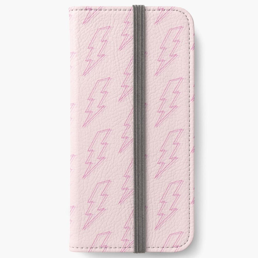 Pink Lightning iPhone Wallet