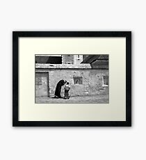 Confession Framed Print