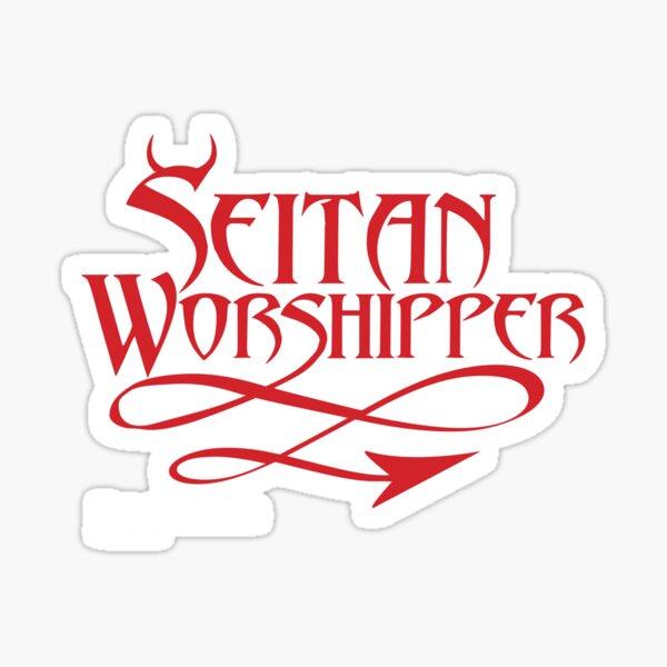Seitan Worshipper Sticker
