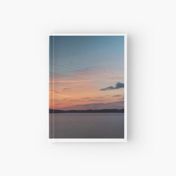 Sunset in Hietaranta Helsinki Hardcover Journal