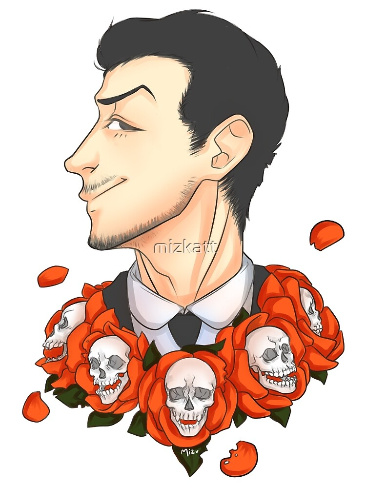 Jim Moriarty - Flowers by mizkatt