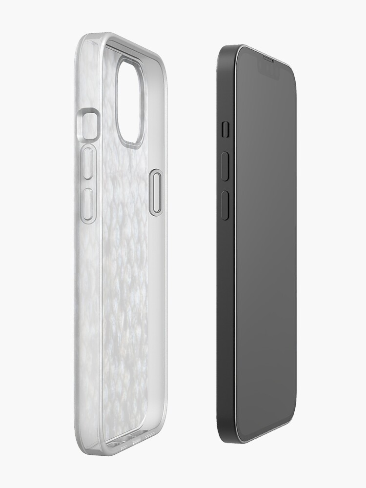 Alternate view of Salmon shed iPhone Case