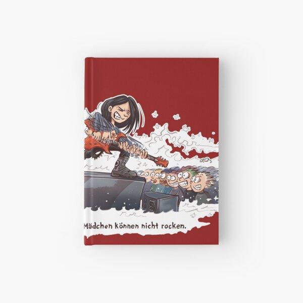 Mädchen können nicht rocken Notizbuch