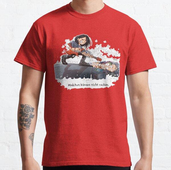 Mädchen können nicht rocken Classic T-Shirt