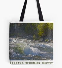 Water powers - Nesselva . Norway. Brown Sugar Story.Featured in Group Fishlike . Favorites: 1 Views: 324 . Thx! Tote Bag