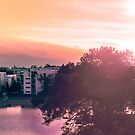 Sunset from Aurinkolahti by DoubleArchangel