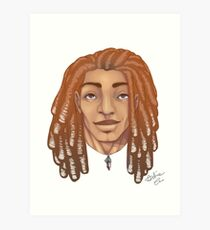Dreads are my thing Art Print