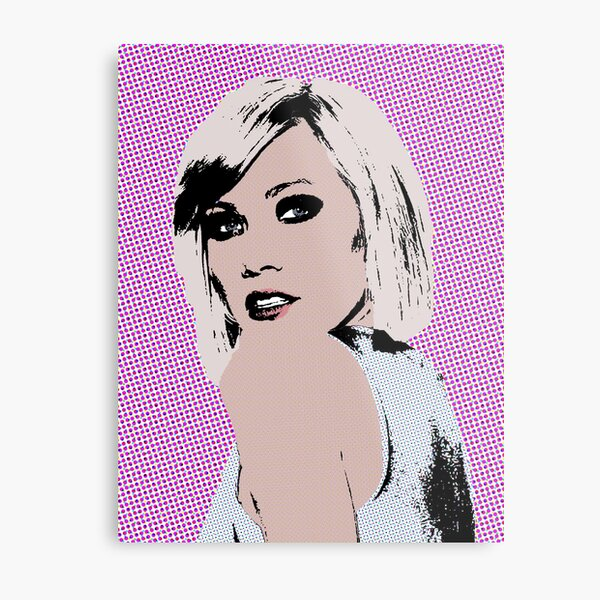Carly Rae Jepsen pop art Metal Print