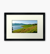 Location location location! Framed Print