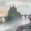 Dragon monastery by A V S TURNER