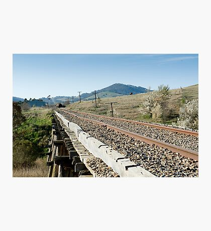 Cooma to Canberra by Rail Photographic Print