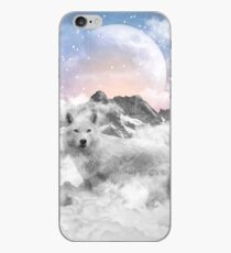The Soul That Sees Beauty (Winter Moon / Wolf Spirit) iPhone Case