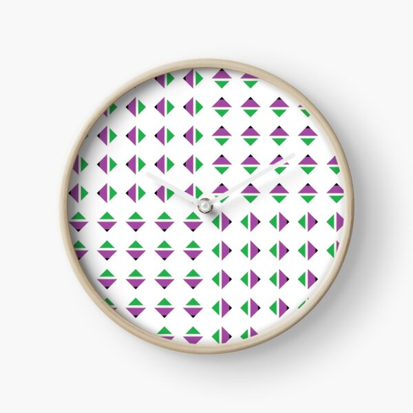 #Pattern, #textile, #design, #abstract, decoration, geometry, scrapbook, illustration, repetition Clock