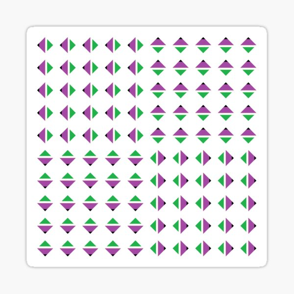 #Pattern, #textile, #design, #abstract, decoration, geometry, scrapbook, illustration, repetition Sticker