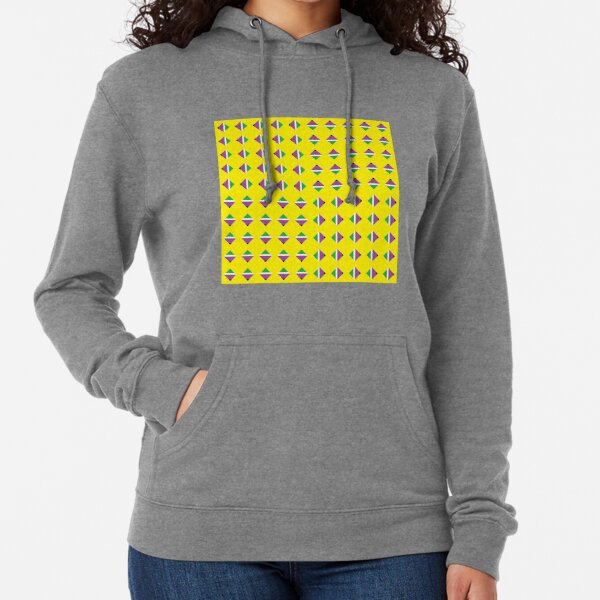 #Pattern, #textile, #design, #abstract, decoration, geometry, scrapbook, illustration, repetition Lightweight Hoodie