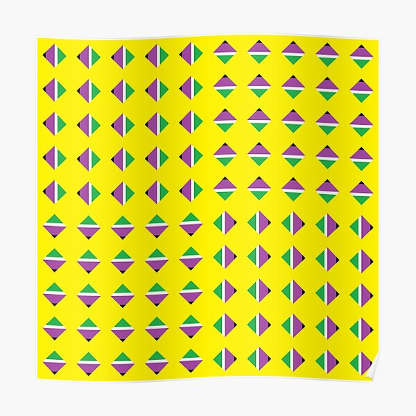 #Pattern, #textile, #design, #abstract, decoration, geometry, scrapbook, illustration, repetition Poster