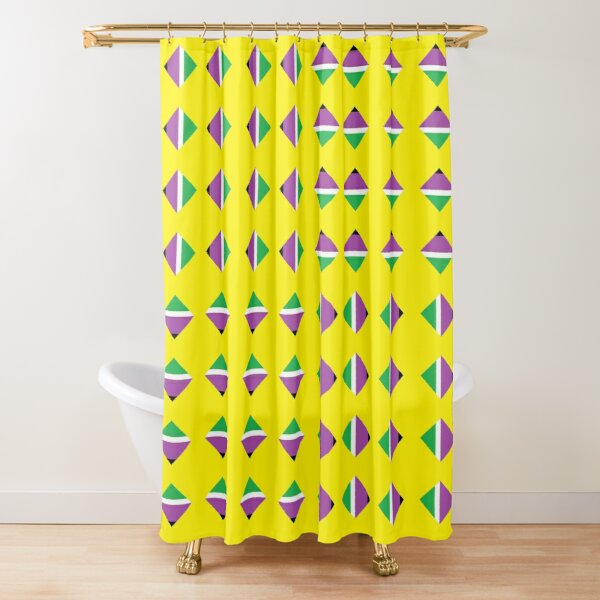 #Pattern, #textile, #design, #abstract, decoration, geometry, scrapbook, illustration, repetition Shower Curtain